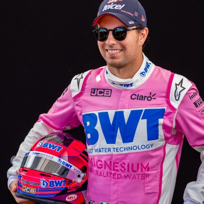 Melbourne, Australia, 12 March, 2020. Sergio Perez (11) driving for Racing Point BWT Mercedes during the Formula 1 Rolex Australian Grand Prix, Melbourne, Australia. Credit: Dave Hewison/Alamy Live News