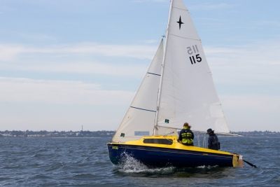 PORT PHILLIP BAY, MAY 2, 2021: BLiSS Series, Race 1 in Port Phillip Bay, Melbourne.  (Photo: Dave Hewison)