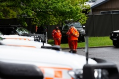 MELBOURNE, VIC - SEPTEMBER 23: Police and SES continue to search for missing 14 year old autistic boy, William Wall after he went missing two days ago in dense bushland on September 23, 2020 in Melbourne, Australia. A massive search in the Yarra Ranges is underway for missing autistic teen who spent the night lost in the bush. Multiple Crews, including police, the Airwing and SES searched for William as temperatures dropped to 7C overnight. Rain is predicted Wednesday and will impact the search efforts. (Photo by Speed Media/Icon Sportswire)