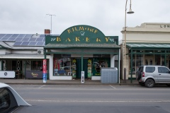 A view of the Kilmore Bakery which has seen a steep downturn in revenue during restrictions during COVID-19 in Kilmore, Australia. An outbreak which started in Chadstone in Melbourne, has spread as far as Benalla. Twenty-eight people linked to the outbreak have now tested positive for COVID-19. There are now two confirmed cases in Kilmore linked with a Melbourne Resident who carried the virus into the town. The person visited the Odd Fellows Cafe in Kilmore which lead to him spreading the virus to a staff member, and a customer. The cafe has been closed for deep cleaning and will remain closed until the 19th October.