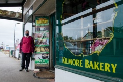Linda's worked at the Kilmore Bakery for 5 years and has never seen business so slow during COVID-19 in Kilmore, Australia. An outbreak which started in Chadstone in Melbourne, has spread as far as Benalla. Twenty-eight people linked to the outbreak have now tested positive for COVID-19. There are now two confirmed cases in Kilmore linked with a Melbourne Resident who carried the virus into the town. The person visited the Odd Fellows Cafe in Kilmore which lead to him spreading the virus to a staff member, and a customer. The cafe has been closed for deep cleaning and will remain closed until the 19th October.