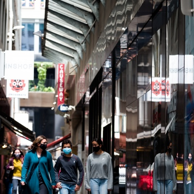 Locals are seen shopping during the COVID-19 in Melbourne. With over a week of zero cases in Victoria, Premier Daniel Andrews is expected to make major announcements on Sunday about further easing of restrictions.