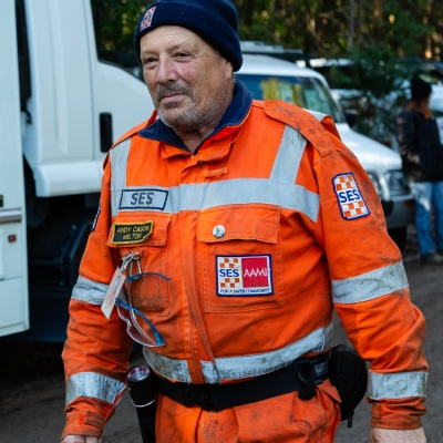 SES volunteers from all over Melbourne joined in on the search at Mt Disappointment in Victoria. An air-and-ground search is continuing for lost Victorian teenager William Callaghan, who suffers from non-verbal autism and is lost in steep and rugged terrain in Victoria after temperatures dropped below freezing overnight.