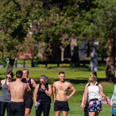 MELBOURNE, AUSTRALIA - MAY 16: Larger groups are gathering in Albert Park as restrictions are being eased in Victoria during COVID 19 on 16 May, 2020 in Melbourne, Australia. (Photo by Speed Media/Icon Sportswire)